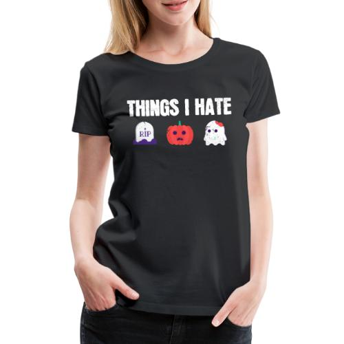Fuck Halloween Gegen Nein Anti Shirt - Frauen Premium T-Shirt