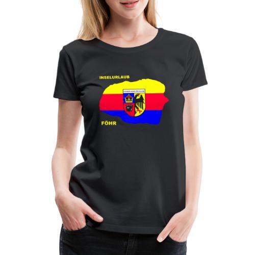 Foehr Insel Nordsee Urlaub - Frauen Premium T-Shirt