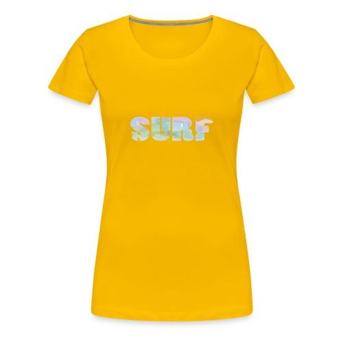 Surf summer beach T-shirt - Women's Premium T-Shirt
