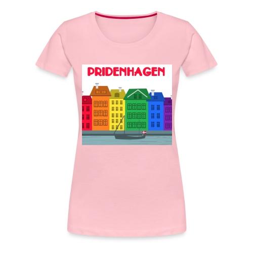 PRIDENHAGEN CAP - Dame premium T-shirt