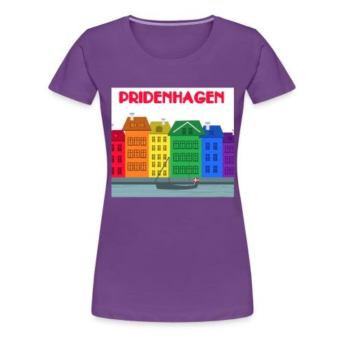 PRIDENHAGEN RETRO T-SHIRT - Dame premium T-shirt