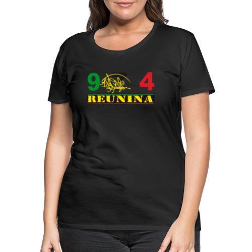 974 ker kreol ikon rasta 01 - T-shirt Premium Femme