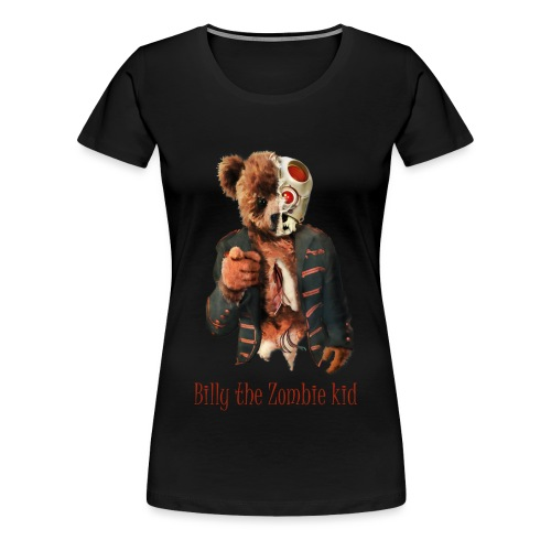 Billy the Zombie kid T-shirt. - Premium-T-shirt dam