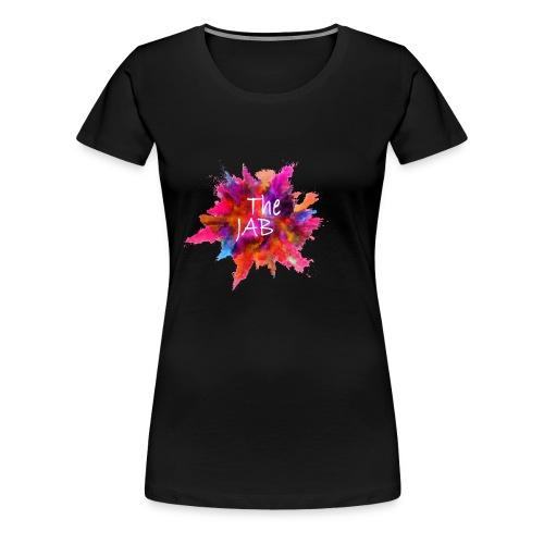 The JAB Splash White - Women's Premium T-Shirt