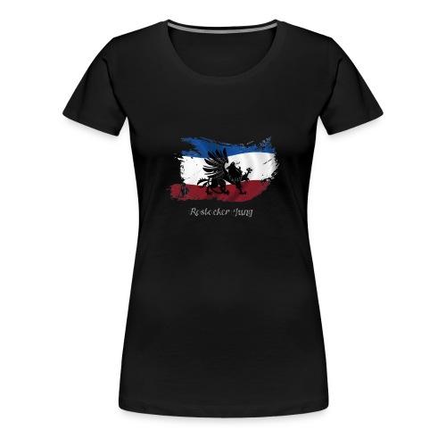 rostocker_jung_weiss - Frauen Premium T-Shirt