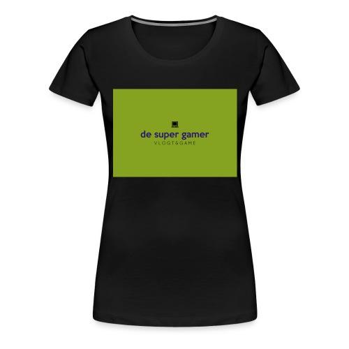 De super gamer - Vrouwen Premium T-shirt