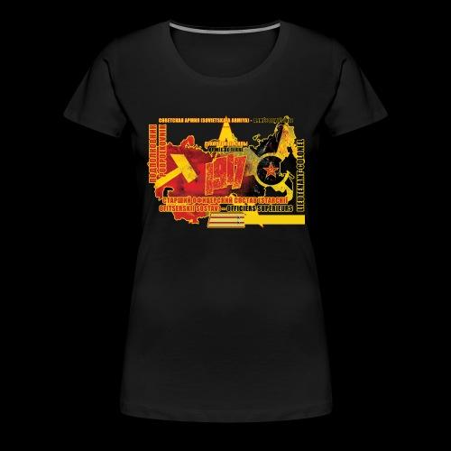 lieutenent colonel C Arme e rouge - T-shirt Premium Femme
