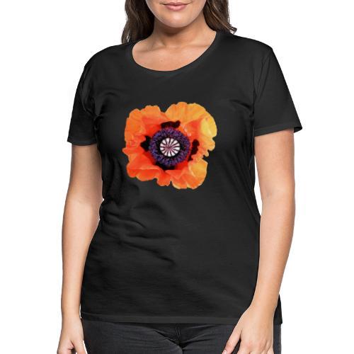 TIAN GREEN - Mohnblüte 2020 01 - Frauen Premium T-Shirt
