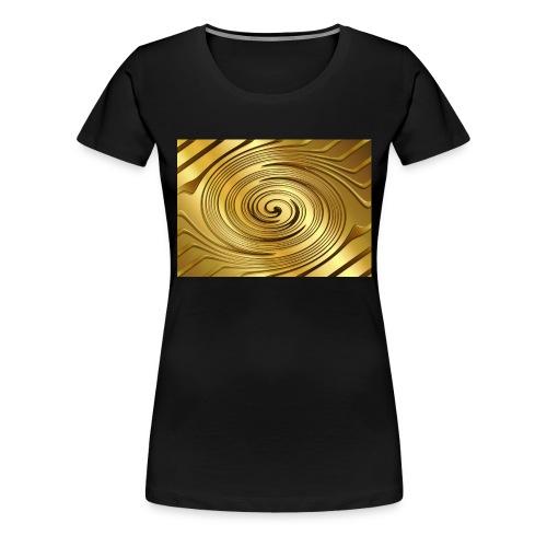 spirale d'oro - Maglietta Premium da donna