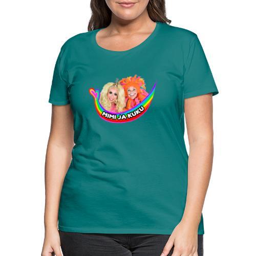 Mimi ja Kuku - Naisten premium t-paita