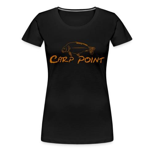 Carp-Point-orange-big - Frauen Premium T-Shirt