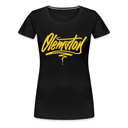 Olematon (musta) - Naisten premium t-paita