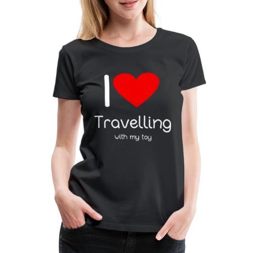 Spielzeug Reisen ToyVoyaging Shirt Geschenk - Frauen Premium T-Shirt