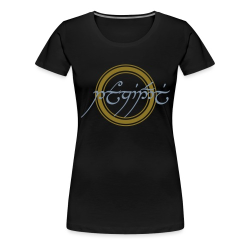 Tolkiendil en tengwar - T-shirt Premium Femme