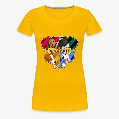 Dogwarts Logo - Women's Premium T-Shirt
