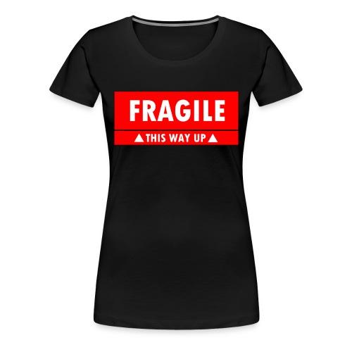 Fragile - This Way Up - Women's Premium T-Shirt