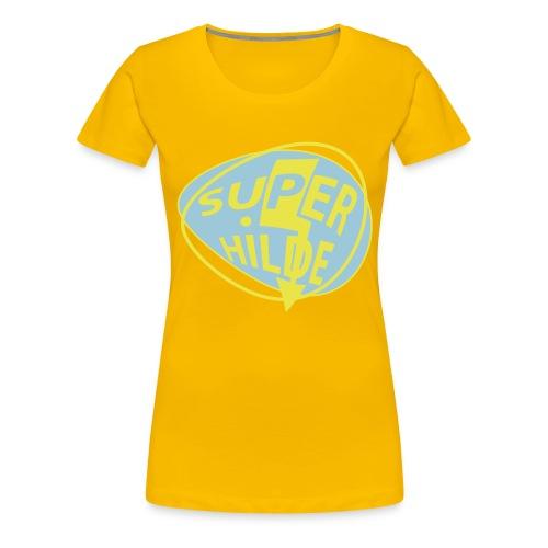 superhilde - Frauen Premium T-Shirt