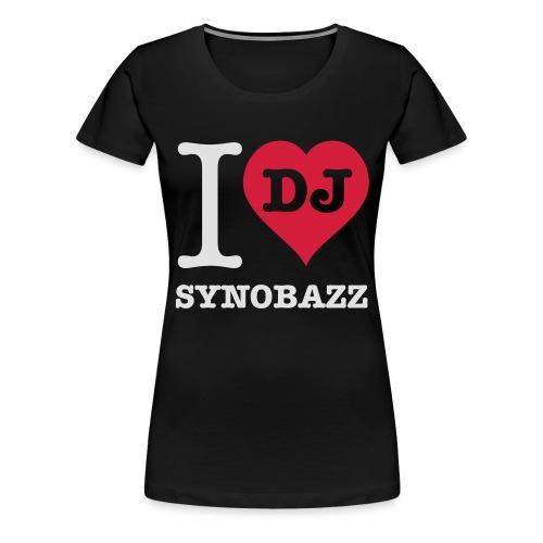 i love synobazz - Frauen Premium T-Shirt