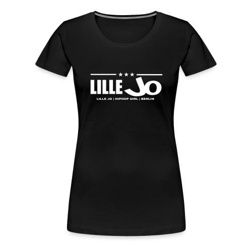 lillejo 2018 X front cap png - Frauen Premium T-Shirt