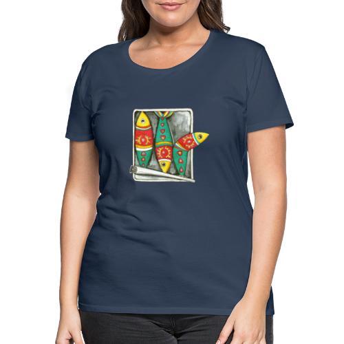 Les sardines du Portugal - T-shirt Premium Femme
