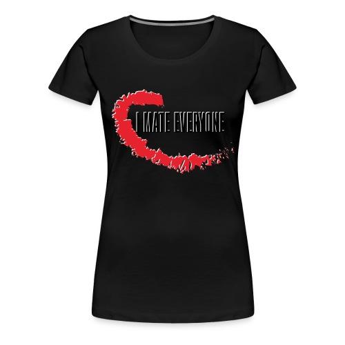 i mate everyone - T-shirt Premium Femme