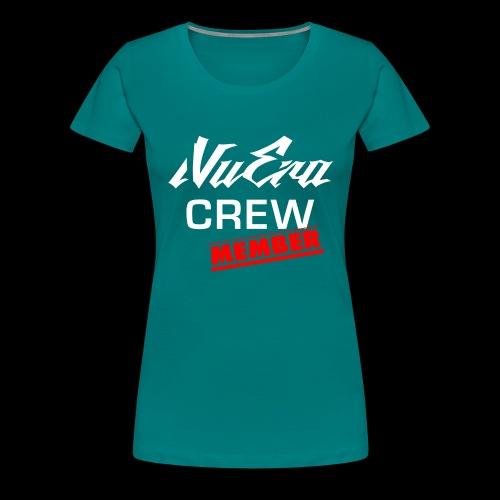 NuEra Crew Logo 2018 - Frauen Premium T-Shirt