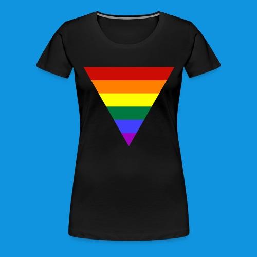 Pride Triangle pocket tank - Women's Premium T-Shirt