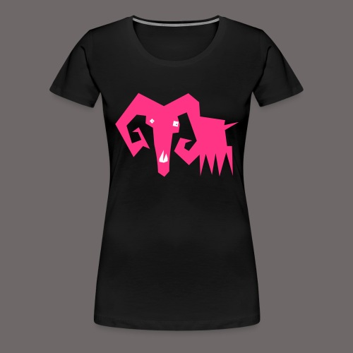 grosse ziege - Frauen Premium T-Shirt