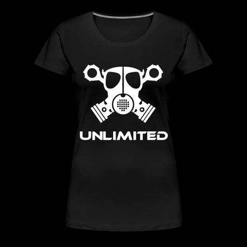 EPS Logo mit Schriftzug t - Frauen Premium T-Shirt