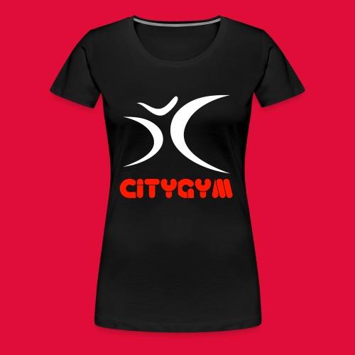 CityGym Guys Pullover - Black - Women's Premium T-Shirt