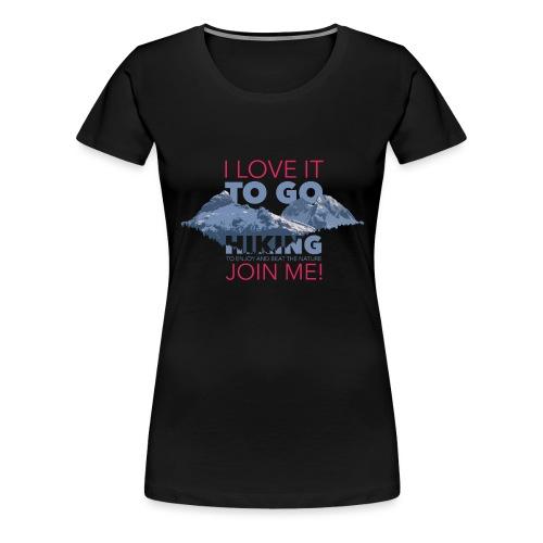 I LOVE NATURE - Frauen Premium T-Shirt
