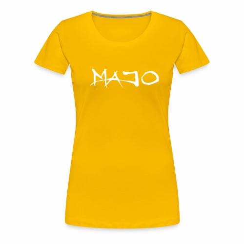 Majo Raw - Premium-T-shirt dam