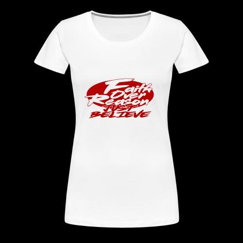OVER REASON - Camiseta premium mujer