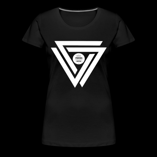 08 logo complet withe - T-shirt Premium Femme