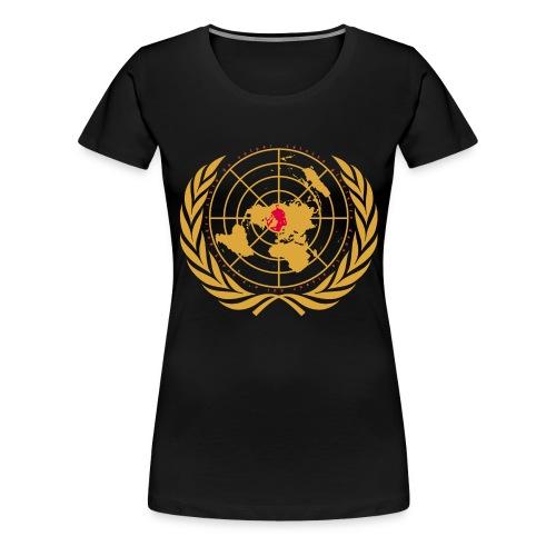 Tous unis contre le réchauffement - T-shirt Premium Femme