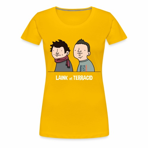Laink et Terracid old - T-shirt Premium Femme