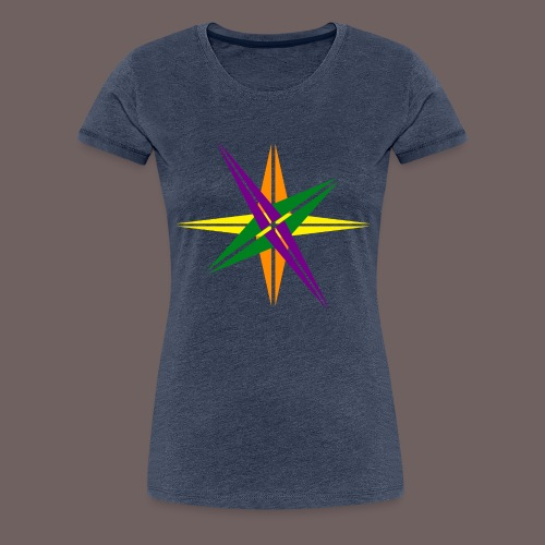 GBIGBO zjebeezjeboo - Love - Couleur d'étoile brillante - T-shirt Premium Femme