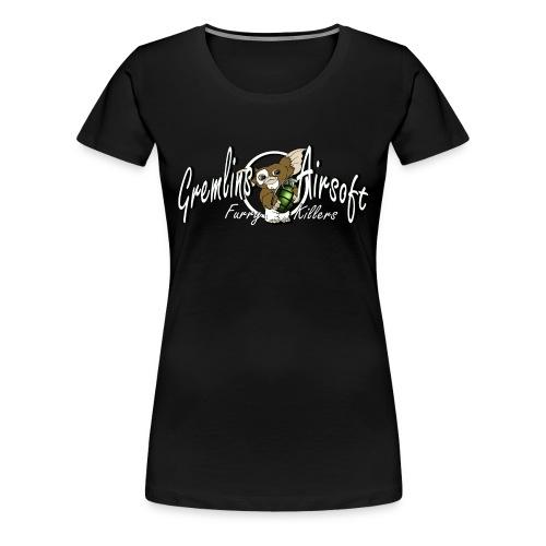 gizmowhite2 - Dame premium T-shirt