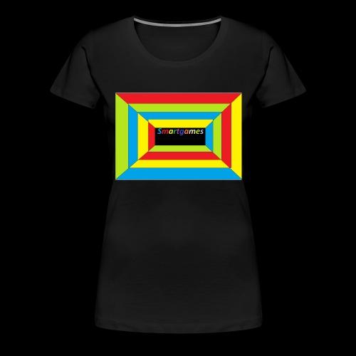 optische teuschung - Frauen Premium T-Shirt
