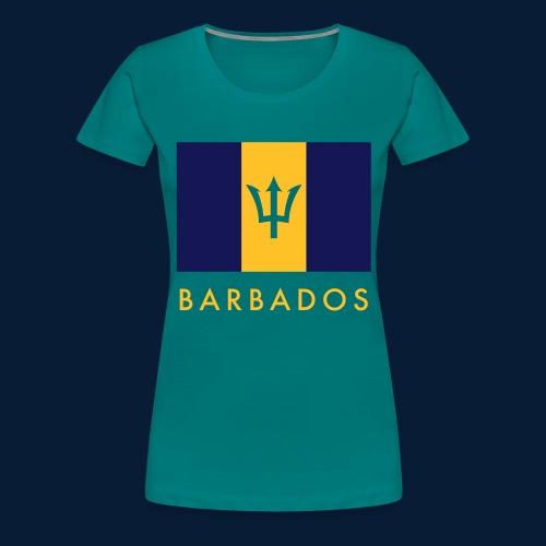 Barbados - Frauen Premium T-Shirt