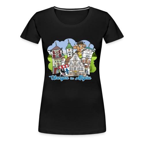 Wangen im Allgäu - Frauen Premium T-Shirt