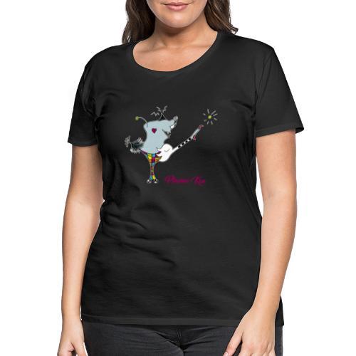 Plumo Kru - T-shirt Premium Femme