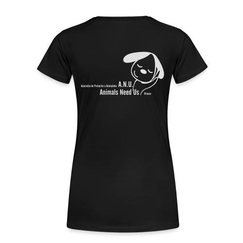 anu vector T - Frauen Premium T-Shirt