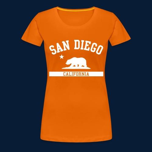 San Diego - Frauen Premium T-Shirt