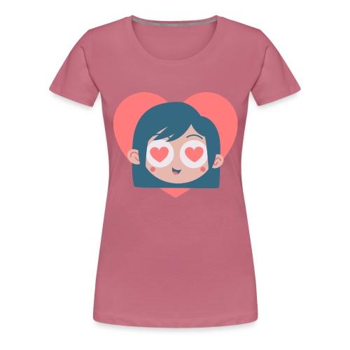 Gamine Amour - T-shirt Premium Femme