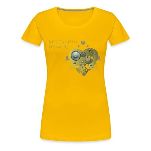 meccanismi_damore - Maglietta Premium da donna