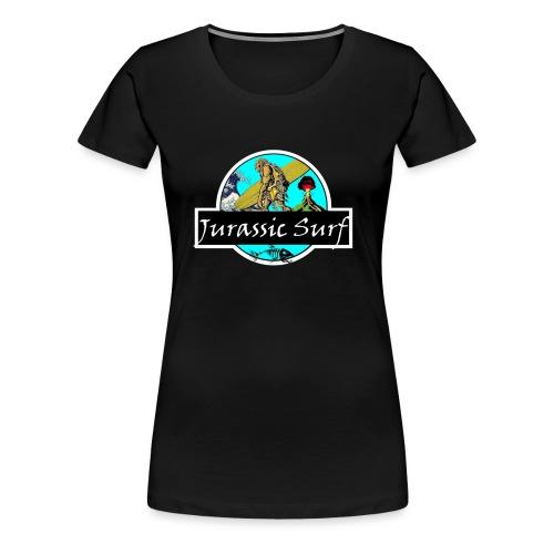 JURASSIC SURF - Maglietta Premium da donna