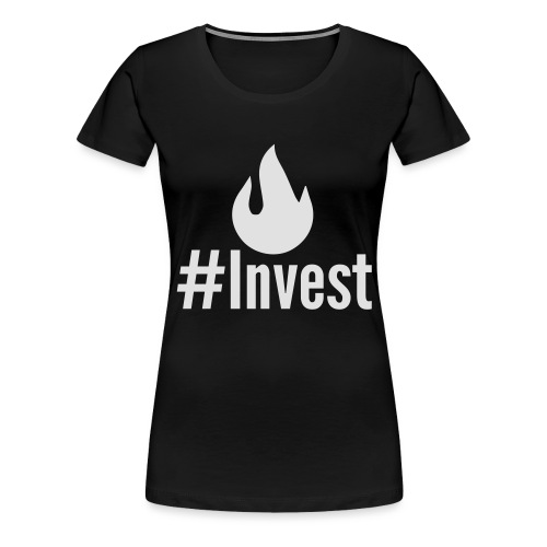 #Invest M Logo Shorts - Women's Premium T-Shirt
