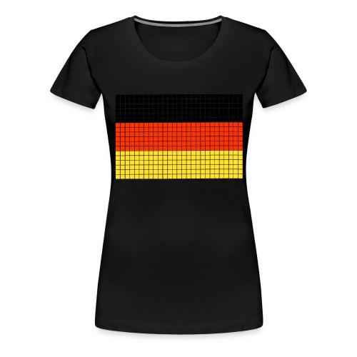 german flag.png - Maglietta Premium da donna