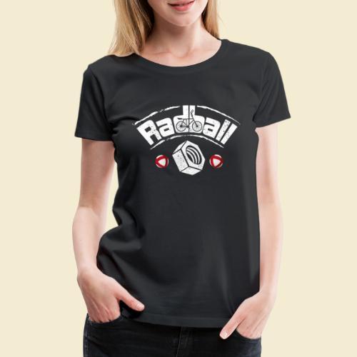 Radball   Mutter - Frauen Premium T-Shirt